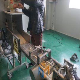 生产供应小白鱼上浆裹粉机 小银鱼上浆裹粉生产线