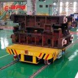 搬运模具75吨远程遥控平车 探伤室轨道运输搬运车