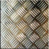 地面防滑304不鏽鋼板 鍍鎳/鍍鋅花紋鋼板 五條筋出售