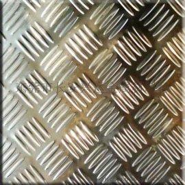地面防滑304不锈钢板 镀镍/镀锌花纹钢板 五条筋**