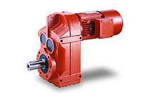平行轴斜齿轮减速电机,