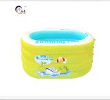 安泰家庭嬰兒游泳池充氣大號加厚兒童浴缸寶寶游泳池嬰幼兒游泳桶