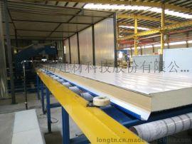 厂家直销聚氨酯复合板 沈阳聚氨酯复合板 双面彩钢保温板 沈阳龙腾新型建材