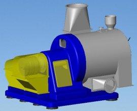 蓝丰环保XLWZ悬臂式卧式螺旋沉降过滤离心机
