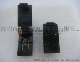 wells-cti IC插座 499-P35-20 支持TO-252-3pin 封装老化测试座