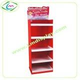 圣诞贺卡纸展示架定制纸货架瓦楞纸板展示架纸板端架促销纸货架