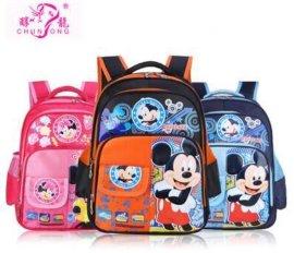 醇龙工厂批发小学生书包2-4年级双肩背包 可爱卡通米奇儿童书包