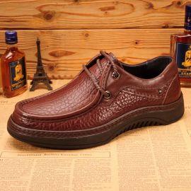 男鞋批發 真皮商務鞋 頭層牛皮舒適男鞋