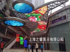 广东led天幕、天幕LED屏 led天幕显示屏光电影像下的建筑奇迹