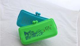 硅胶材质的零钱包 手机包