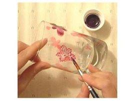 上海玻璃画颜料环保玻璃画颜料批发