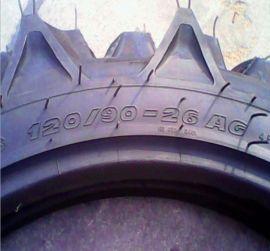 拖拉機人字紋灌溉胎120/90-20