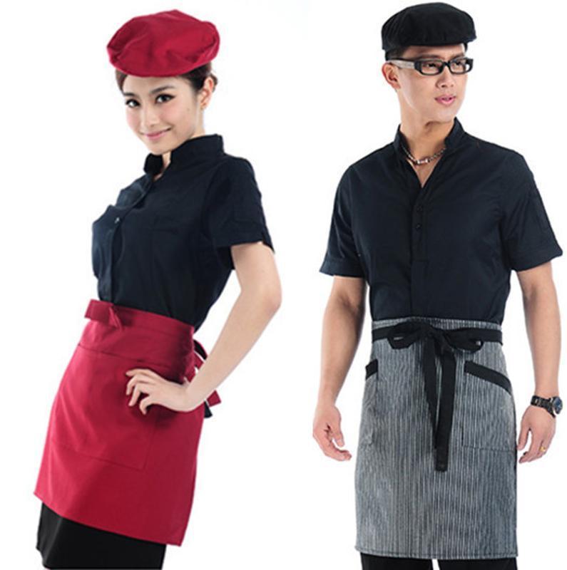 餐饮酒店餐厅男女服务员防油工作帽贝雷前进帽子印制