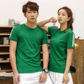 体恤潮流定制衫纯色夏季短袖t恤男装韩版半袖打底衫圆领衣服修身
