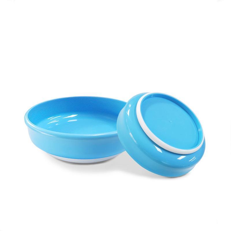 新款  餐碗 防滑防摔辅食盘子 防烫塑料碗  餐具