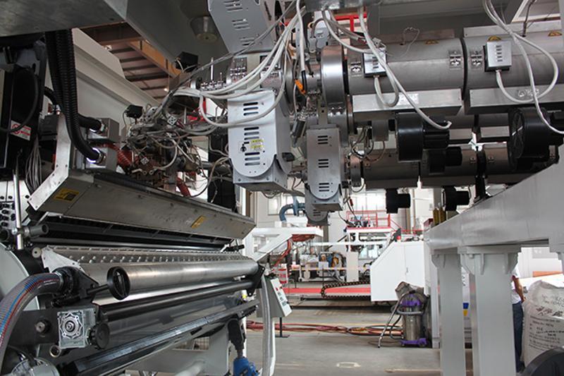 廠家銷售ASA薄膜擠出生產線 ASA共擠複合膜設備歡迎選購