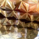 廠家供應不鏽鋼折板不鏽鋼花紋板表面處理定製不鏽鋼彩色板