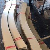 木紋鋁方通屏風 組合造型鋁方通隔牆裝飾仿古效果