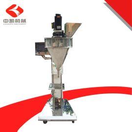 厂家供应自搅拌粉末灌装机,半自动脚踏式粉末灌装机