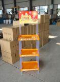 【厂家直销】食用油三层塑料架金锣粮油促销陈列架稻米油广告货架