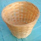 江桥竹藤生态装饰竹编厂为全国农场果园批发定做各种手工编织的水果竹筐 竹编盒 竹编包