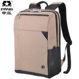 申派sinpaid笔记本包电脑背包 韩版礼品包包OEM定制商务双肩背包