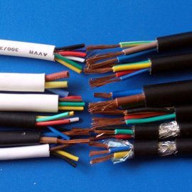 线材厂家现货供应2464 26AWG2芯过粉线 DC电源线 PVC线材