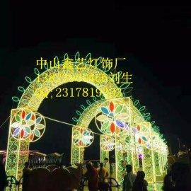 LED节日灯LED灯杆造型灯LED灯光隧道