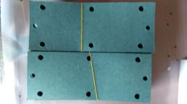厂家低价批发 灯饰专用青稞纸绝缘片