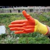 黄纱pvc纯胶手套