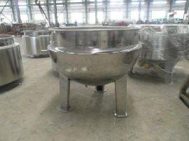 食品级 不锈钢 可倾斜 蒸汽夹层锅