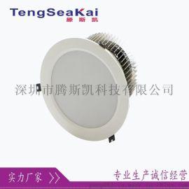 12寸60W80W暗装LED筒灯