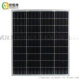 足功率多晶60W太陽能電池板太陽能燈專用光伏發電板