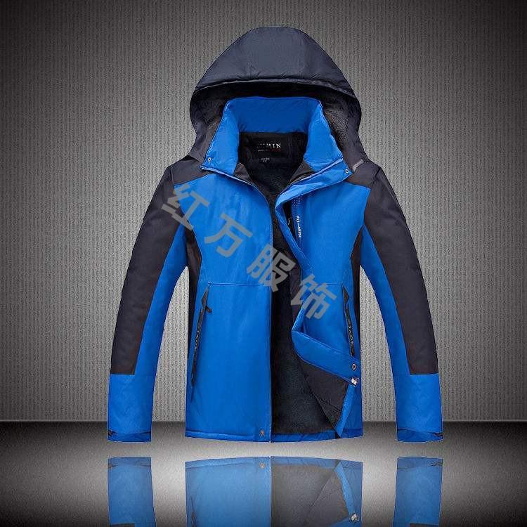 定制男女冲锋衣 加工冲锋衣 棉衣冲锋衣生产