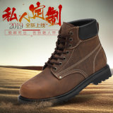 真皮马丁靴线缝户外休闲鞋英伦风8寸防砸耐磨工装男鞋
