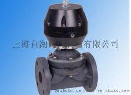 上海水丽G641F气动塑料隔膜阀UPVC