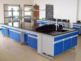 钢木实验台 实芯理化板台面厂家定制