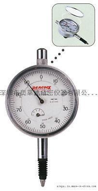 日本peacock孔雀牌57-SWA指针式百分表 高精度指示表 进口