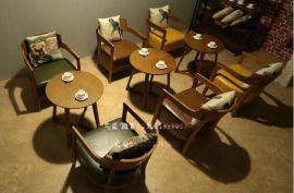 西乡咖啡厅家具厂直销 皇岗茶餐厅桌椅批发  罗湖火锅店桌椅定制
