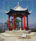 中式六角涼亭模具