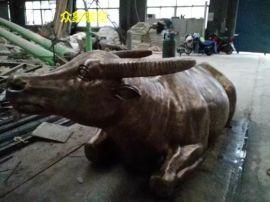 厂家直销廉政铸铜牛雕塑