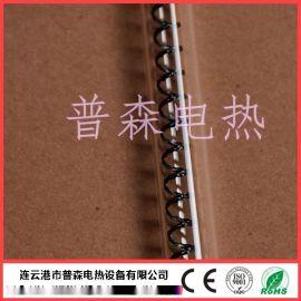 碳纖維石英加熱管_黑色螺旋編織絲加熱管