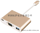 USB type-c to HDMI 转换器 PD充电,USB数据