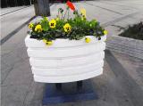 pvc微发泡花箱,户外景观花箱,  道路花箱