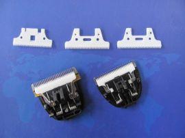 色陶瓷推剪片 型号012精片 家用电推剪刀片低电流低温升刀片