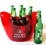 塑料冰桶 双层元宝塑料冰桶 塑料元宝冰桶