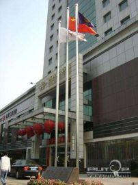 西安批量生产升旗旗杆图片