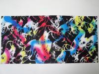 T-2196_彩色抽象 / Fun's play 魔术头巾