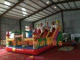 新疆乌鲁木齐儿童充气城堡制作精美耐用持久充气蹦床
