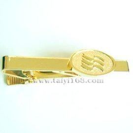 金色领带夹,匠人勋JIANG REN XUN领带夹